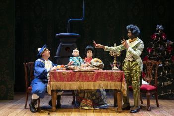 An Enduring Holiday Tradition: A Review of The Steadfast Tin Soldier at Lookingglass Theatre Company