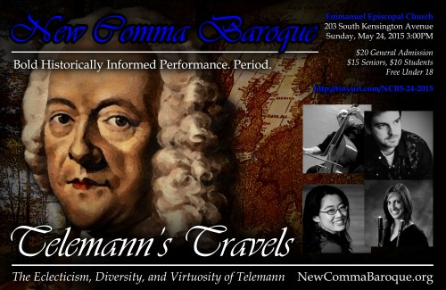 Telemann's Travels at Emmanuel Episcopal Church