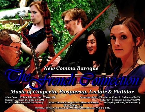 New Comma Baroque - The French Connection – Music of the Couperin, Forqueray, Leclair & Philidor