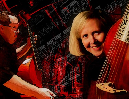 New Comma Baroque - Viol Duos (with Eyeglasses Obbligato) - Elizabeth Macdonald & Phillip Serna in Recital