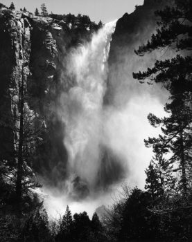 ansel adams Bridalveil Fall