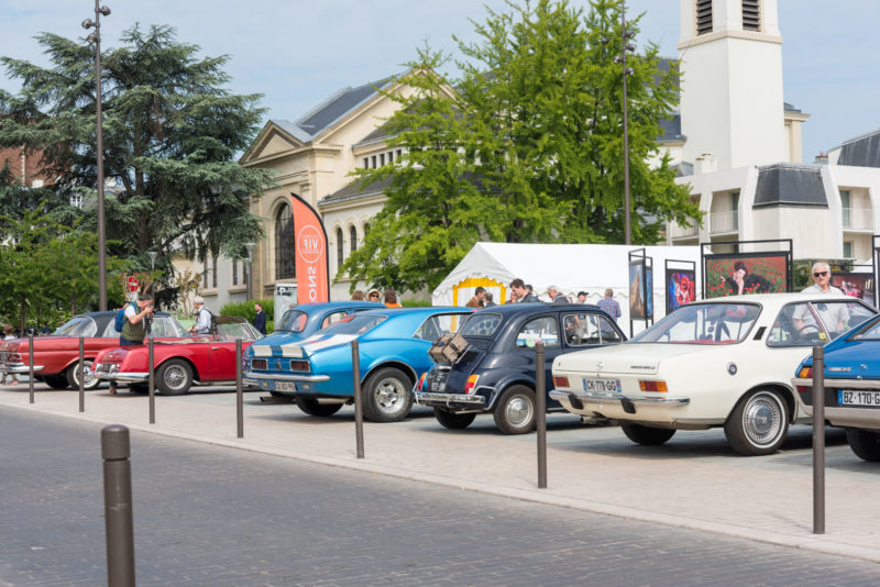 Vieux véhicules de collection