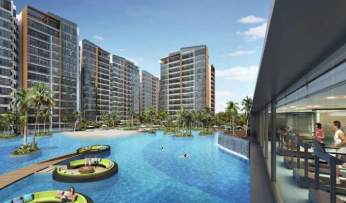 Condo Singapore - Coco Palms - Gym And Pool