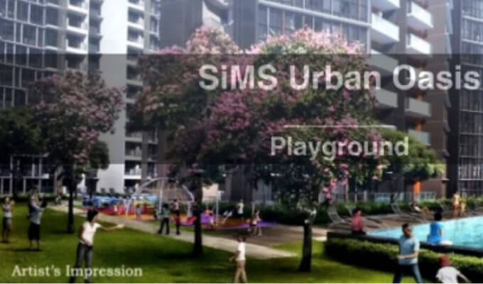New Launch Condo - Sims Urban Oasis - Playground