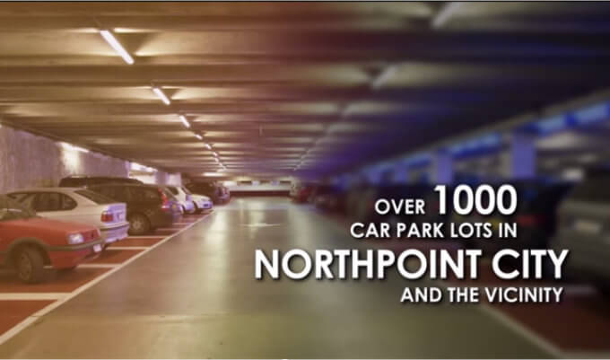 Singapore Property - North Park Residences - Over 1000 Car Lots
