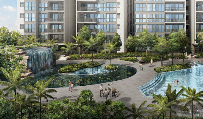 Singapore Condos - North Park Residences - Spring Cove