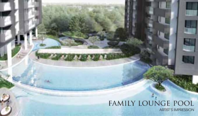 Singapore Property - Trilive - Facility Family Lounge Pool