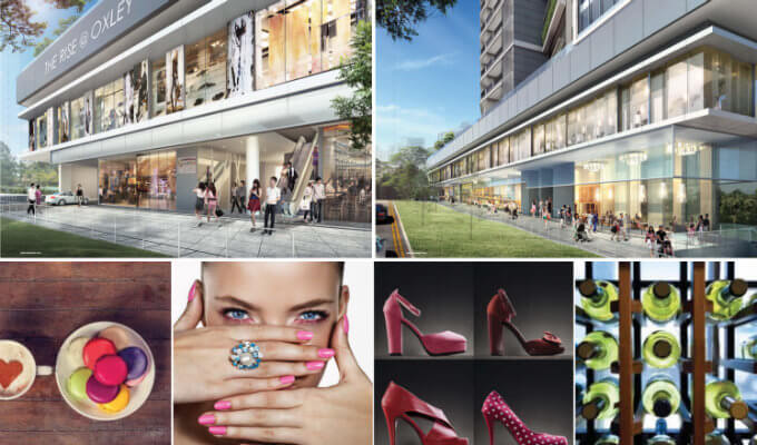 The Rise @ Oxley - Commercial Shops & Lifestyle