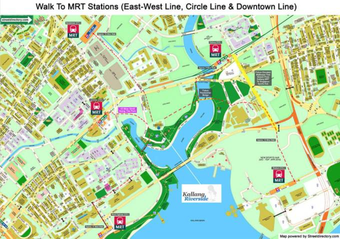 Kallang Riverside - MRT Stations Within Vicinity