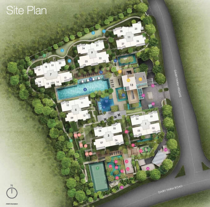 The Skywoods - Site Plan