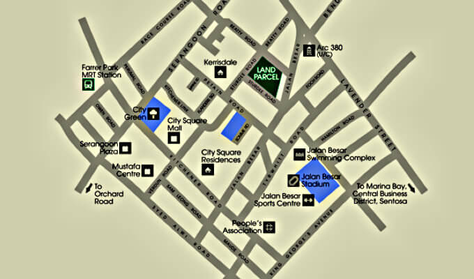Sturdee Residences - Location