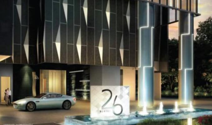 26 Newton - New Launch Singapore - Entrance