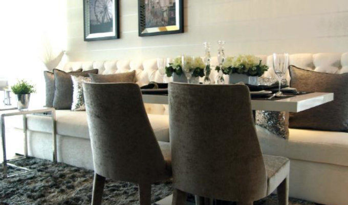 8M Residences - Property Launch - Dining Room