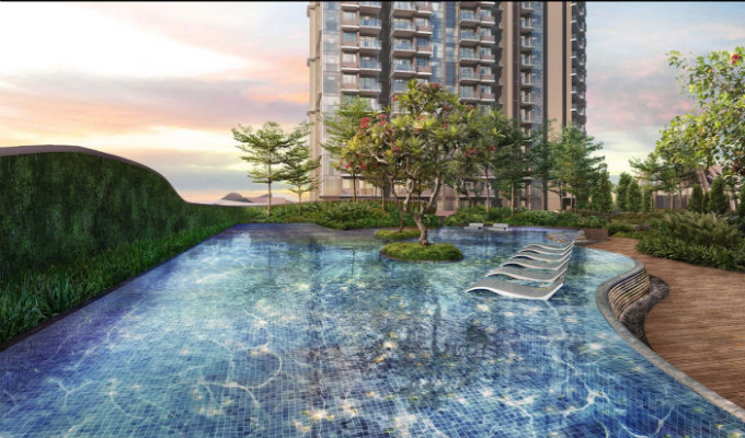 Stars Of Kovan - Singapore Condo For Sale - 3rd Storey Lap Pool
