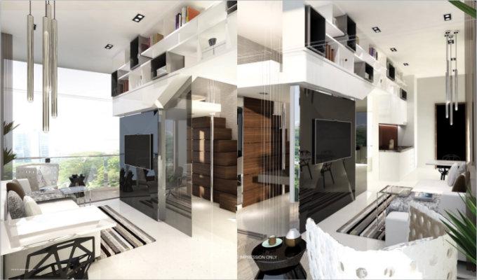 Robin Suites Internal Furnishing - Singapore Condominium
