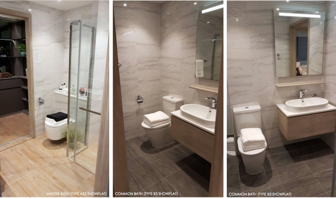 The Alps Residences Bathrooms - Property Launch