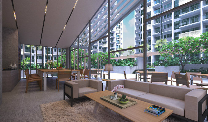 The Alps Residences Function Room - Singapore Condos