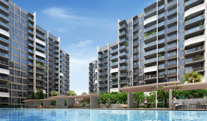 The Alps Residences Pool - New Condo Launch