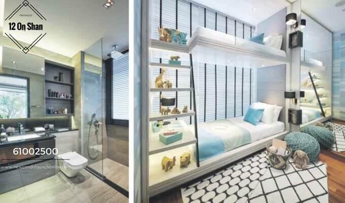 12 On Shan Bedroom and Bathroom