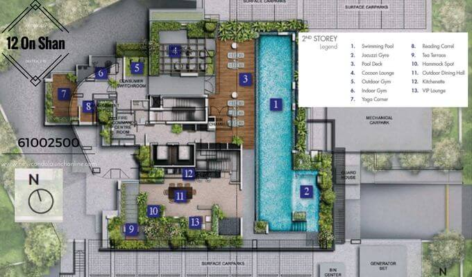 12 On Shan Site Plan 2nd Storey