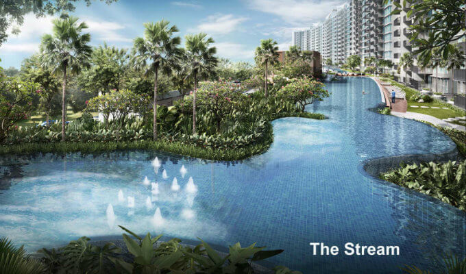 Kingsford Waterbay - The Stream - Condo For Sale Singapore