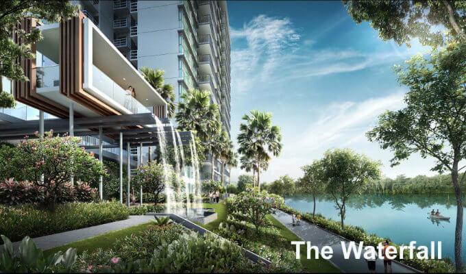 Kingsford Waterbay - The Waterfall - Condo Singapore