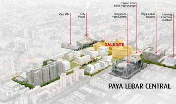 Paya Lebar Central Sale Site - New Condo