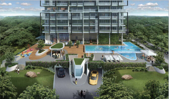 Three Balmoral - Facility Deck - Condo Singapore