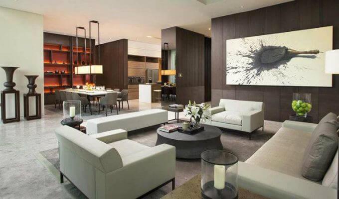 Leedon Residence Living Room
