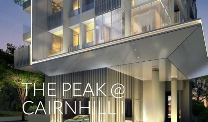 The Peak @ Cairnhill I Entrance