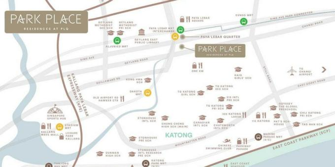 Park Place Residences Location Map