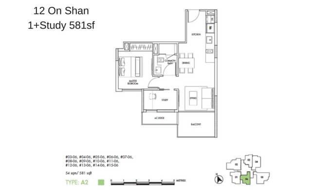 12 On Shan 1+Study 581sf