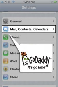 Enabling email with SSL on your iPhone