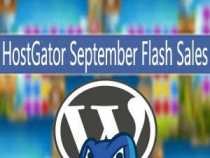 HostGator September Flash Sales!