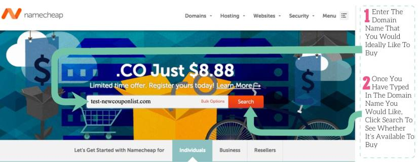 how to Buy A Super Cheap Domain Name Using NameCheap
