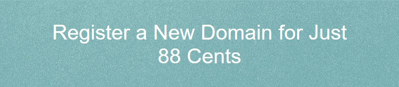 NameCheap - Domains as low as $0.88