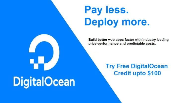 Try DigitalOcean for Free with a $100 Credit