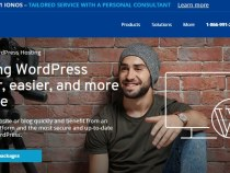 1&1 IONOS WordPress Hosting just $1.00 + 01 domain free