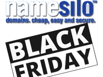 NameSilo Black Friday & Cyber Monday 2018: .COM Domains Just $6.99/yr