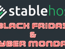 StableHost Black Friday Discount, Deals of 2018 up to 85% off for web hosting!