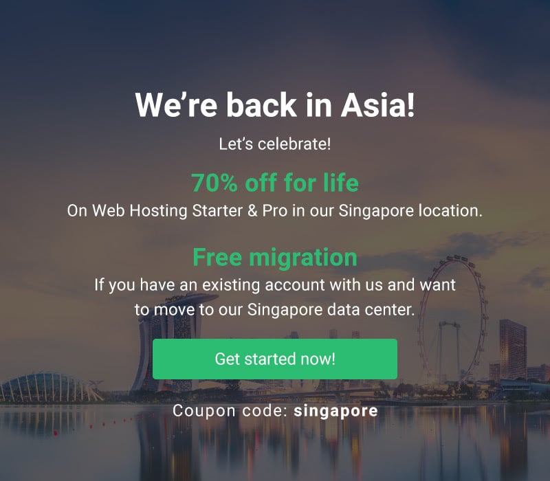 Back in Asia, StableHost Discounts 75% OFF For Life