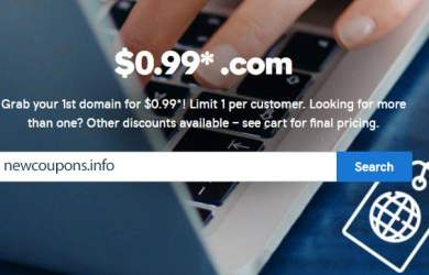 99 cent domain godaddy coupon