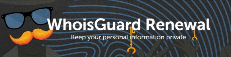 Namecheap WhoisGuard Renewal Coupon for Only $0.99/yr