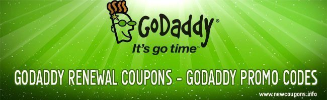 Godaddy coupons december 2019