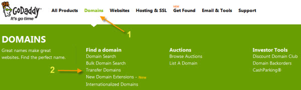 How Transfer A Domain Name To GoDaddy - 2018's Guide