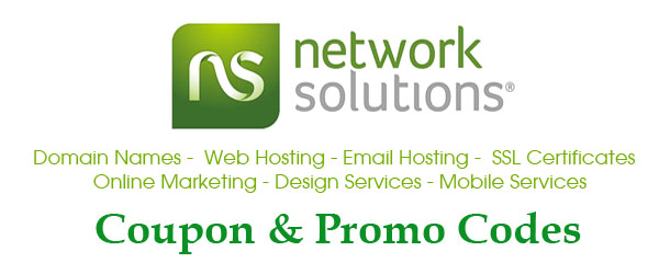 Network Solutions also provides mobile website hosting and mobile email services. With such a large range of service offerings, there are also a lot of deals to be found at Network Solutions. Use coupon codes to get discounts on new domain registration, domain name renewal, web hosting, search engine optimization and much more.