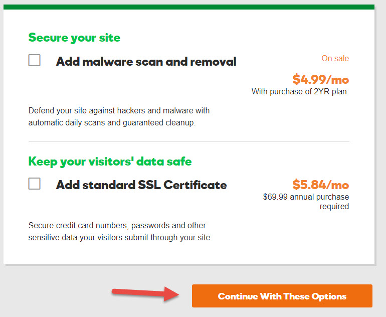 Only $1 - GoDaddy Hosting Coupon December 2019