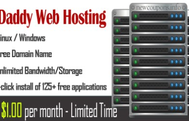 hosting 1usd godaddy