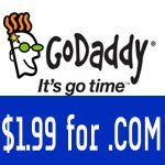 $1.99 .Com GoDaddy Coupon Codes in November 2018