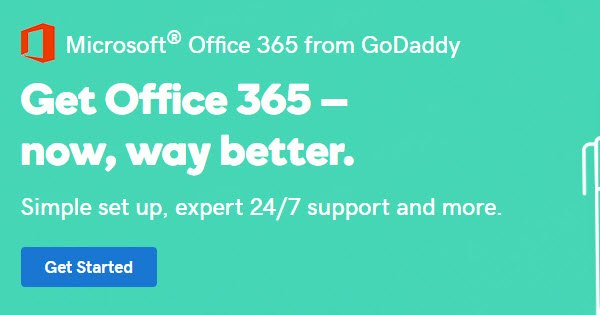 godaddy coupon office 365
